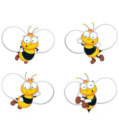 Buzz–Worthy Bees Cut-Outs