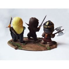 Gimli, Aragorn e Legolas (O senhor dos Anéis)