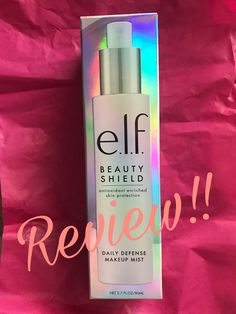 Elf Cosmetics Review!!! Elf Makeup, Skin Routine, Beauty Review, Good Skin, Cool Things To Make, Makeup Yourself, Mists, Perfume Bottles, About Me Blog