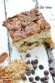 Cinnamon-banana-cake @the idea room - what a great breakfast, afternoon snack or after dinner dessert - now that's versatile!