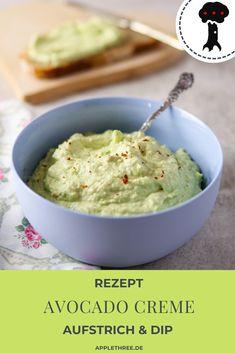 Avocado Creme, Avocado Dip, Low Carb Avocado, Dips, Healthy Food, Healthy Recipes, Low Carb Keto, Hummus, Pesto