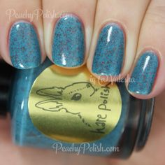 HARE polish Sparkwood & 21 | Winter 2014: Welcome To Twin Peaks, Part 2 | Peachy Polish