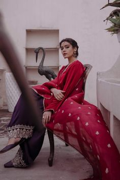 Zara Shahjahan Ready to Wear Luxury Pret Collection 2019 SKU : Latest Indian Fashion Trends, Asian Fashion, Indian Attire, Indian Wear, Pakistani Outfits, Indian Outfits, Celebrity Casual Outfits, Casual Dresses, Fashion Dresses