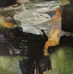 """""""østenfor sol, vestenfor måne....."""" Bjørnar Aaslund, oil on canvas, 130 x 130 cm"""