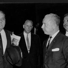[Luis Muñoz Marín y varios funcionarios partiendo hacia Washington D.C. para el funeral de John F. Kennedy] :: Fotos El Mundo 40-68