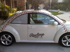 Baseball Beetle. Love it