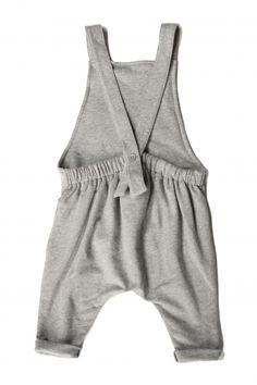 Salopette // Romper // Organic Cotton // Gray Label