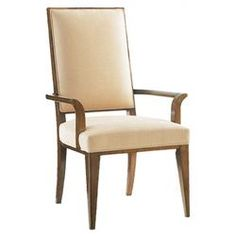 Mirage Leigh Arm Chair in Brown