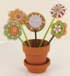 Air Dry Clay Tutorials: Whimsical & Decorative Clay Flowers
