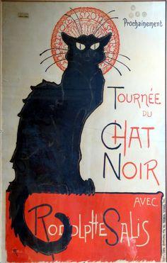 Tournée du Chat Noir  Théophile-Alexandre Steinlen