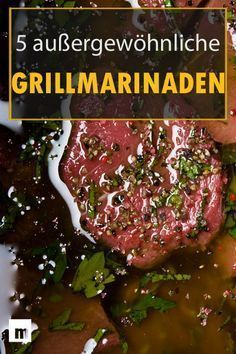 Make grilled marinade yourself: 5 brilliant recipes for men . - Make grilled marinade yourself: 5 brilliant recipes for men # Men& bus - Grilling Tips, Grilling Recipes, Pork Recipes, Grill N Chill, Bbq Grill, Barbecue Recipes, Cauliflower Recipes, Easy Meals, Food And Drink