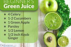 Green Drink Recipes, Healthy Juice Recipes, Healthy Juices, Healthy Drinks, Healthy Eating, Juicer Recipes, Fast Recipes, Healthy Meals, Clean Eating