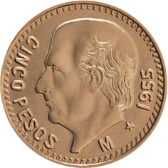 Familia del Centenario, oro, Banco de México