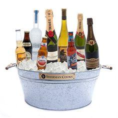 galvanized booze  bucket