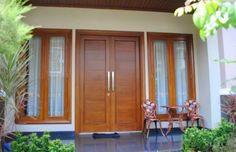ideas morden main door for 2019 House Main Door Design, Wooden Front Door Design, Home Door Design, Main Entrance Door Design, Double Door Design, Door Gate Design, Door Design Interior, Window Design, Entrance Doors
