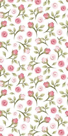 29 Ideas For Flowers Vintage Paper Decoupage Flower Pattern Design, Flower Patterns, Print Patterns, Flower Wallpaper, Pattern Wallpaper, Wallpaper Backgrounds, Cellphone Wallpaper, Iphone Wallpaper, Vintage Paper