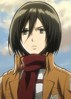 Looking for information on the anime or manga character Mikasa Ackerman? On MyAnimeList you can learn more about their role in the anime and manga industry. Attack On Titan Season, Attack On Titan Anime, Mikasa Scarf, Levi Mikasa, Mikasa Anime, Manga Anime, Anime Art, Aot Characters, Eremika