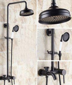 Bathtub Faucets Cheap Sale Frap Bathtub Faucets Bathroom Waterfall Shower Head Set Mixer Bathroom Shower Faucet Rain Shower Panel Bath Faucet Tap Factories And Mines