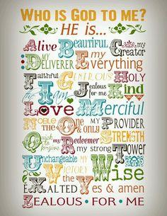 Wie is God voor mij?