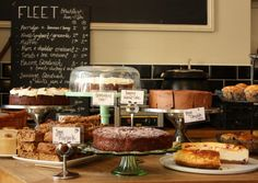 Some of the most delicious baked yumminess in London, courtesy of the Fleet River Bakery just behind Holborn tube station.