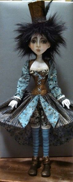 Sherry is always amazing!! Cloth Doll Patterns by Sherry Goshon