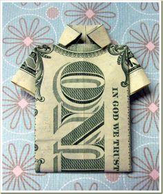 A Dollar Bill Shirt (artist unknown)