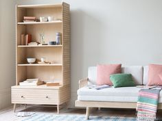 Our shelves and storage are great space saving solutions. Take a look at our fab range of shelving units, storage boxes and baskets. Wooden Shelving Units, Modular Shelving, Storage Boxes, Storage Shelves, Loaf Furniture, Wooden Tv Stands, Comfy Sofa, Living Room Inspiration, Space Saving