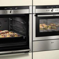 Neff Double Ovens With Slide Under Door