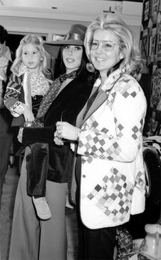 Cher with her daughter and mother.