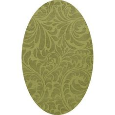 Dalyn Rug Co. Bella Green Pad Area Rug Rug Size: Oval 12' x 18'