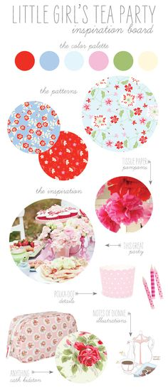 The Sweetest Vintage Tea Party by Pauline from Sweet Muffin Suite. Adorable invites that make each little girl feel so special. Love the soft colors!