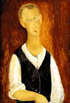 Oil Painting Poster by Modigliani Amedeo. Choose from multiple sizes and hundreds of frame and mat options. Amedeo Modigliani, Modigliani Portraits, Italian Painters, Italian Artist, Gravure Photo, Chaim Soutine, Young Farmers, Oil Painting Reproductions, Oil Painting On Canvas