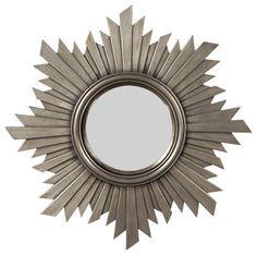 Howard Elliot Aurora Round Mirror eclectic-mirrors