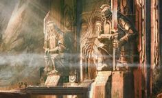 "filisleftmustachebraid: "" Concept art and designs for Erebor, from the BOTFA Appendices """