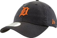 MLB Detroit Tigers Cotton Adjustable Cap by New Era. $20.83. One size fits most. Primary Team logo in raised embroidery on the front of the cap. New Era flag on wearers left side. The GW920 puts your MLB Team logo on a great garment washed adjustable cap.