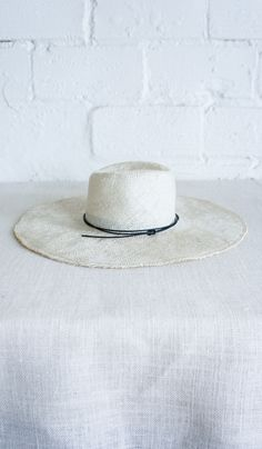 cdb861c399f Brookes Bozwell Wide Straw Hat