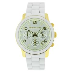 Michael Kors Ladies' Classic Watch In Silver & Gold - Beyond the Rack