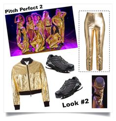 """""""Pitch Perfect 2 #2 - made by @pandagirl1106"""" by xoxo-ily ❤ liked on Polyvore featuring DKNY"""