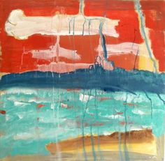"Saatchi Art Artist Birgit Maria Nagengast; Painting, ""Seaside on Tuesday"" #art"