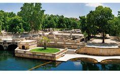 Nîmes - Les jardins de la fontaine