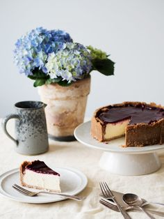 Sukkerfri cheesecake med brombærtopping - Copenhagen Cakes Copenhagen Cake, Tiramisu, Cheesecake, Baking, Ethnic Recipes, Diabetes, Desserts, Copenhagen, Tailgate Desserts