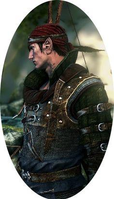 Iorveth alias Faoiltiarna Medaillion by Ritiakaramne