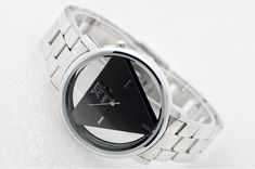 Wilon Classic Triangle Men and Women Stainless Steel Watch, ask @20nineteen for a coupon code.