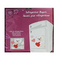 """Valentine/'s Day Hearts /& Roses Refrigerator or Dishwasher Magnet 23/""""W x 17/"""" Tall"""
