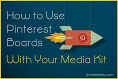 How To Use Pinterest to Complement Your Media Kit Pinned by www.goodinklings.com Gads and Oodles of Good  Advice, Tips & Tricks to Succeed as a Creative Person