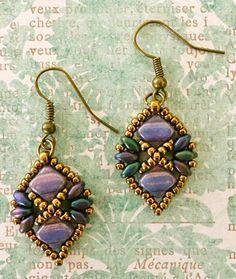 Linda's Crafty Inspirations: Pattern Review: Diadem Bracelet