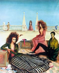 Composition with figures on a terrace | Leonor Fini | 1939 ...