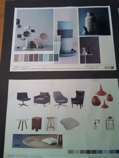 Colours and furniture