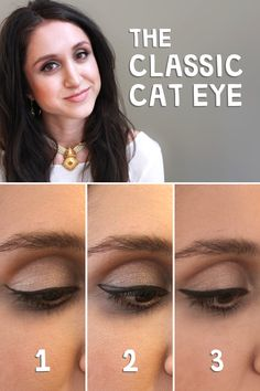 Master the cat eye: Follow these 3 easy steps in our DIY tutorial to create this classic look.