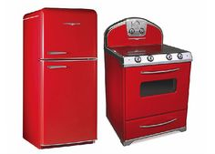 Refrigerator and Range from Elmira Stove Works